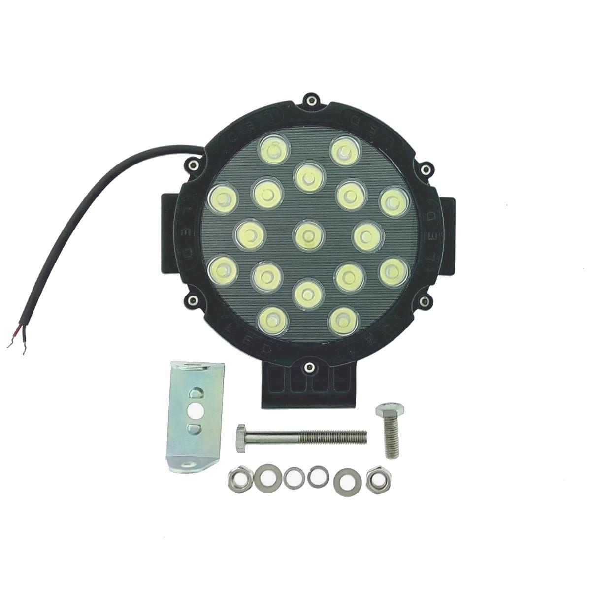 LED προβολέας αυτοκινήτου αδιάβροχος κατευθυντικός 51W 17 SMD 6000K – CP1204 – 10~30V