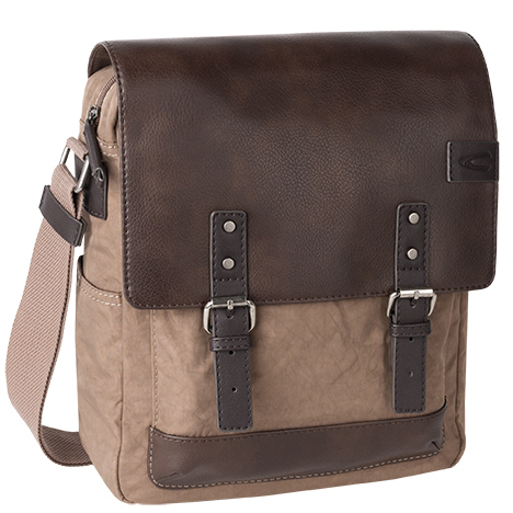 Τσάντα ώμου CAMEL ACTIVE AUSTIN μπεζ-καφέ 210 602 25