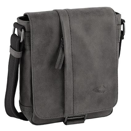 Τσάντα ώμου CAMEL ACTIVE HAMPTON μαύρη 215 603 60