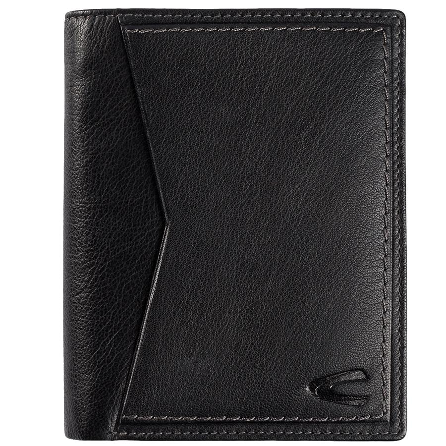 Δερμάτινο ανδρικό πορτοφόλι CAMEL ACTIVE CUBA όρθιο μαύρο 222 706 60