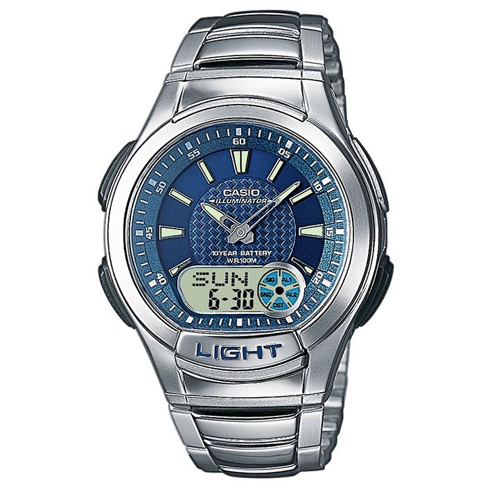 Ρολόι CASIO CA3 Χρονογράφος Δευτερολέπτου Αντίστροφη Μέτρηση Ξυπνητήρι Αυτόματο ημερολόγιο Προβολή 'Ωρας σε 12/24ωρη Βάση-Φωτισμός Led
