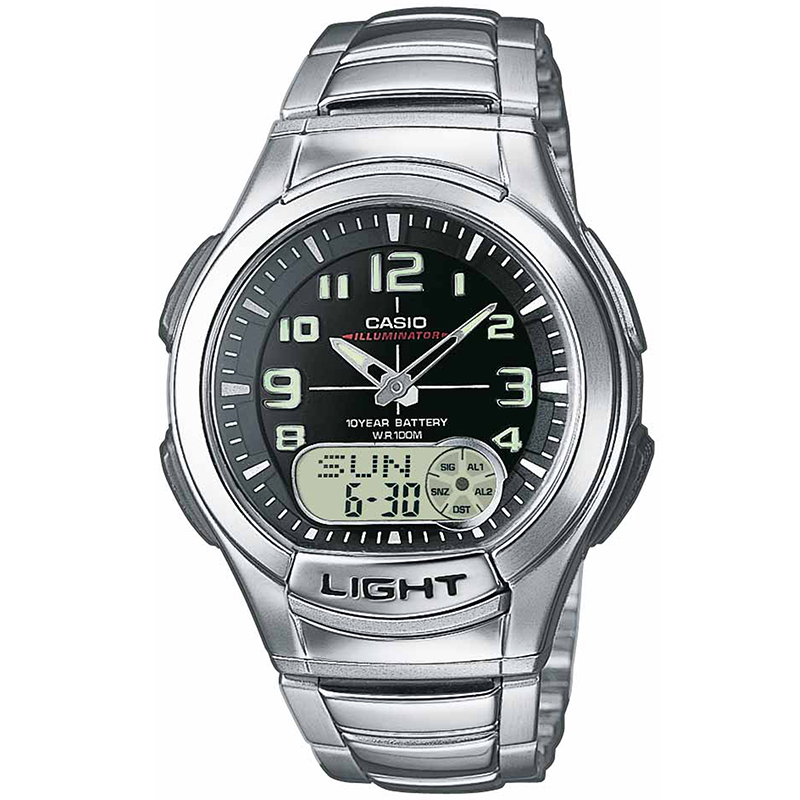 CASIO CA69 Χρονογράφος Δευτερολέπτου Αντίστροφη Μέτρηση Πέντε ξυπνητήρια Μνήμη Δεδομένων Παγκόσμια Ώρα Μπαταρία υψηλής αντοχής-Φωτισμός οθόνης LED