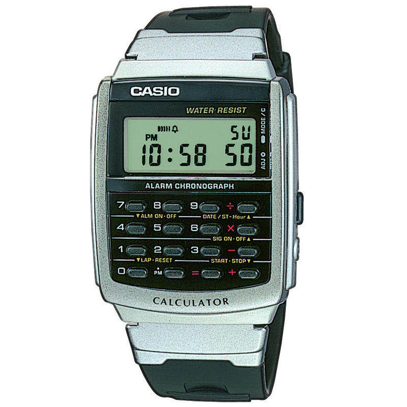 CASIO CA66 Αριθμομηχανή 8 ψηφίων Δεύτερη ζώνη ώρας Χρονογράφος δευτερολέπτου Ξυπνητήρι Πλήρες αυτόματο ημερολόγιο Προβολή ώρας σε 12/24