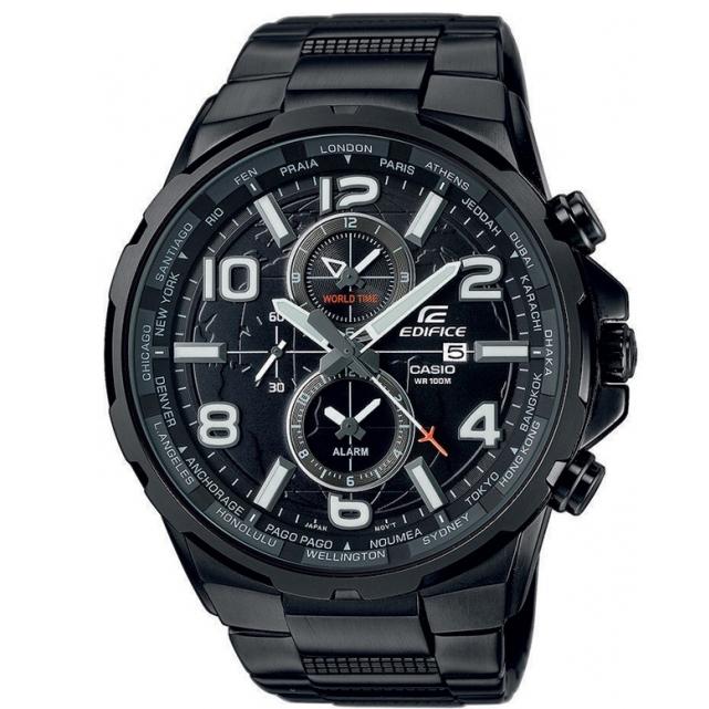 CASIO CA103 Δεύτερη ώρα GMT Ένδειξη ημερομηνίας Ξυπνητήρι Οθόνη με επικάλυψη Neobrite