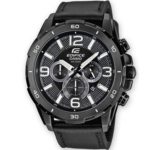 CASIO EDIFICE EFR-538L-1AVUEF Ένδειξη ημερομηνίας Ένδειξη ώρας σε 24ωρη βάση Χρονογράφος ακριβείας δευτερολέπτου