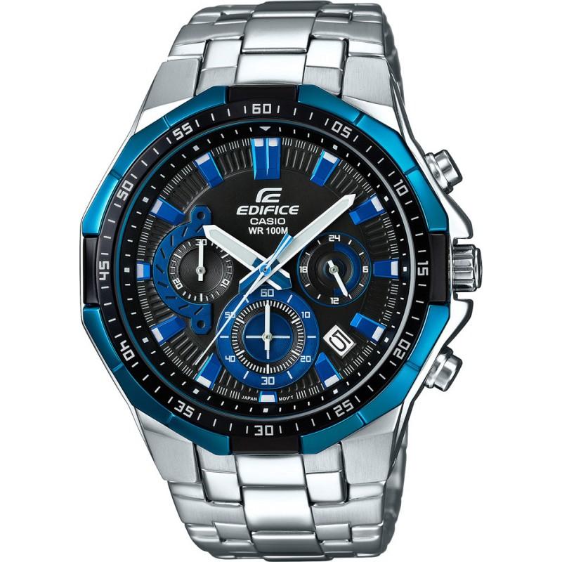 CASIO EDIFICE EFR-554D-1A2VUEF Εμφάνιση ημερομηνίας Χρονόμετρο - 1/1 δευτ. - 30 λεπτά