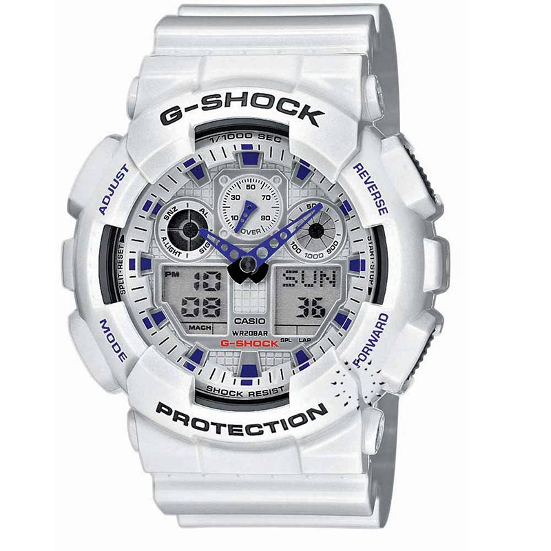 CASIO G-SHOCK (GA-100A-7AER)