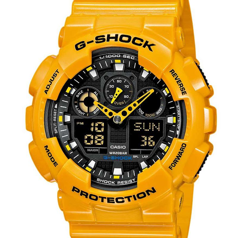 CASIO G-SHOCK (GA-100A-9AER)