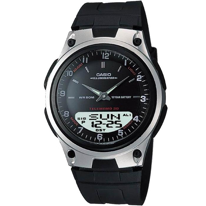 CASIO CA6 Παγκόσμια ώρα Αυτόματος φωτισμός οθόνης Ένδειξη ώρας σε 12ωρη/24ωρη βάση Χρονογράφος 1/100 δευτερολέπτου 5 Ξυπνητήρια snooze Ημερολόγιο Μνήμη 30 καταχωρήσεων