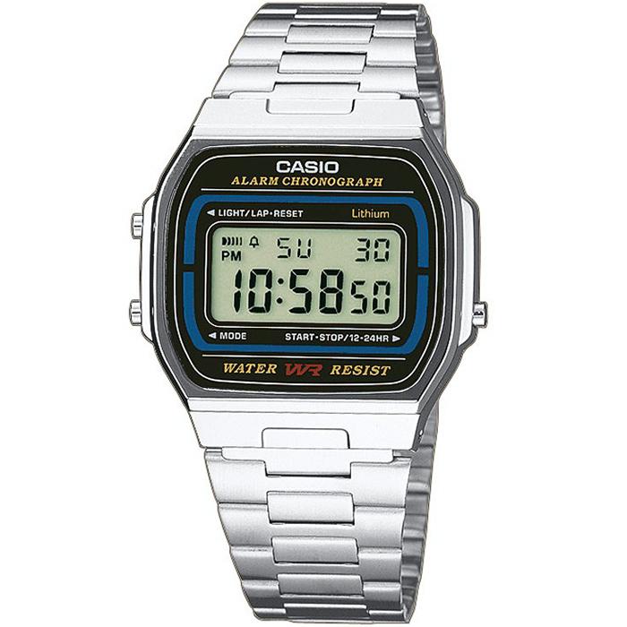 CASIO CA32 Πλήρες αυτόματο ημερολόγιο Ξυπνητήρι Χρονόμετρο Χρονογράφος ακριβείας δευτερολέπτου Ένδειξη μπαταρίας στην οθόνη Μπαταρία υψηλής αντοχής (7 έτη)