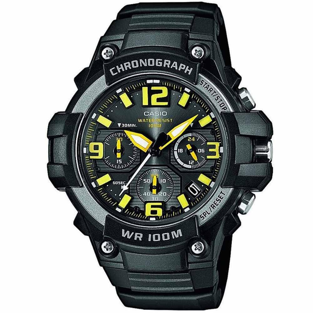 CASIO CA89 Φωσφορίζοντες δείκτες και ενδείξεις Ένδειξη ημερομηνίας Ένδειξη ώρας σε 24ωρη βάση Χρονογράφος ακριβείας δευτερολέπτου