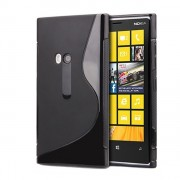 Advanced Accessories για Nokia Lumia 920 Μαύρη Θήκη Gel S-Line(ΚΙΝ027)