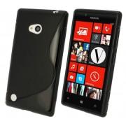 Advanced Accessories για Nokia LUMIA_720 Μαύρη θήκη Gel S-Line (ΚΙΝ170)