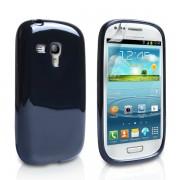 YouSave Accessories για Samsung Galaxy S3 mini Μαύρη Θήκη Gel και Μεμβράνη Προστασίας Οθόνης(ΚΙΝ127)
