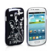YouSave Accessories για Samsung Galaxy S3 Mini Μαύρη IMD Θήκη και Μεμβράνη Προστασίας Οθόνης(ΚΙΝ160)