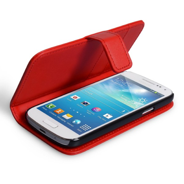 YouSave Accessories για Samsung Galaxy Note 3 Neo Δερμάτινη PU Θήκη Wallet και Screen_Protector - Κόκκινη(ΚΙΝ429)