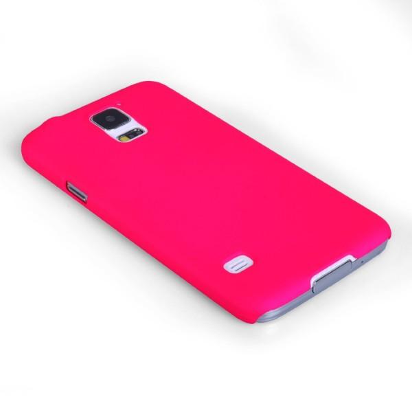 YouSave Accessories για Samsung Galaxy S5 Ροζ Θήκη Hybrid και Μεμβράνη Προστασίας Οθόνης(ΚΙΝ379)