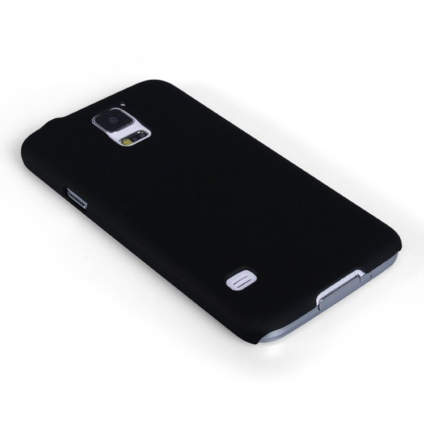 YouSave Accessories για Samsung Galaxy S5 Μαύρη Θήκη Hybrid και Μεμβράνη Προστασίας Οθόνης(ΚΙΝ380)