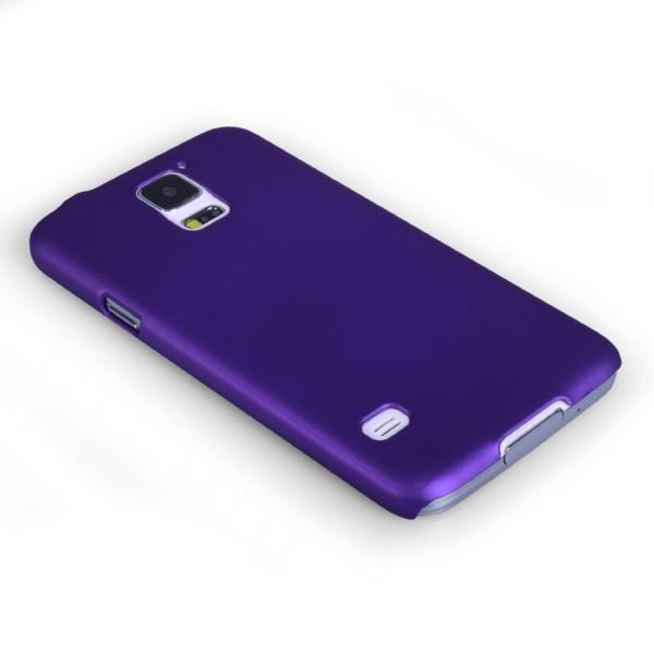 YouSave Accessories για Samsung Galaxy S5 Μωβ Θήκη Hybrid και Μεμβράνη Προστασίας Οθόνης(ΚΙΝ381)
