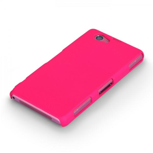 YouSave Accessories για Sony Xperia Z1 Compact Θήκη Hybrid και Screen_Protector - Ροζ(ΚΙΝ403PIN)