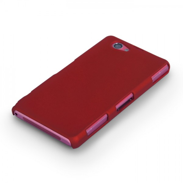YouSave Accessories για Sony Xperia Z1 Compact Θήκη Hybrid και Screen_Protector - Κόκκινη(ΚΙΝ403RED)