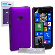 YouSave Accessories για Nokia Lumia 625 Θήκη Hybrid και Screen_Protector - Μωβ(ΚΙΝ407PUR)