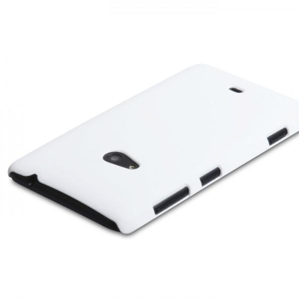 YouSave Accessories για Nokia Lumia 625 Θήκη Hybrid και Screen_Protector - Λευκή(ΚΙΝ407WH)