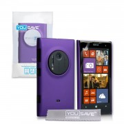 YouSave Accessories για Nokia Lumia 1020 Θήκη Hybrid και Screen_Protector - Μωβ(ΚΙΝ412PUR)