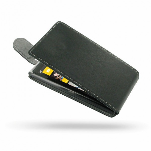 YouSave Accessories για Nokia Lumia 1020 Δερμάτινη PU Θήκη Flip και Screen_Protector - Μαύρη(ΚΙΝ413)