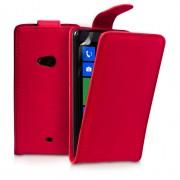 YouSave Accessories για Samsung Galaxy S4 Δερμάτινη PU Κόκκινη Θήκη Flip και Μεμβράνη Προστασίας Οθόνης(ΚΙΝ247)