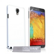 YouSave Accessories για Samsung Galaxy Note 3 Neo Θήκη Hybrid και Screen_Protector - Λευκή(ΚΙΝ423)