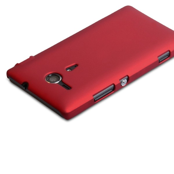 YouSave Accessories για Sony Xperia SP Θήκη Hybrid και Screen_Protector - Κόκκινη(ΚΙΝ430RED)