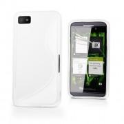 Advanced Accessories για Blackberry Z10 Λευκή Θήκη Gel S-Line(ΚΙΝ034)