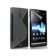 Advanced Accessories για Sony Xperia Ion Μαύρη θήκη Gel S-Line(ΚΙΝ199)