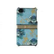 Unique για Apple iPhone 4/4S Floral Δερμάτινη Θήκη Stand(ΚΙΝ219)
