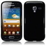 Advanced Accessories για Samsung i8160 Galaxy Ace 2 Μαύρη θήκη Silicon case Slim Fit και Μεμβράνη Προστασίας Οθόνης(ΚΙΝ024)