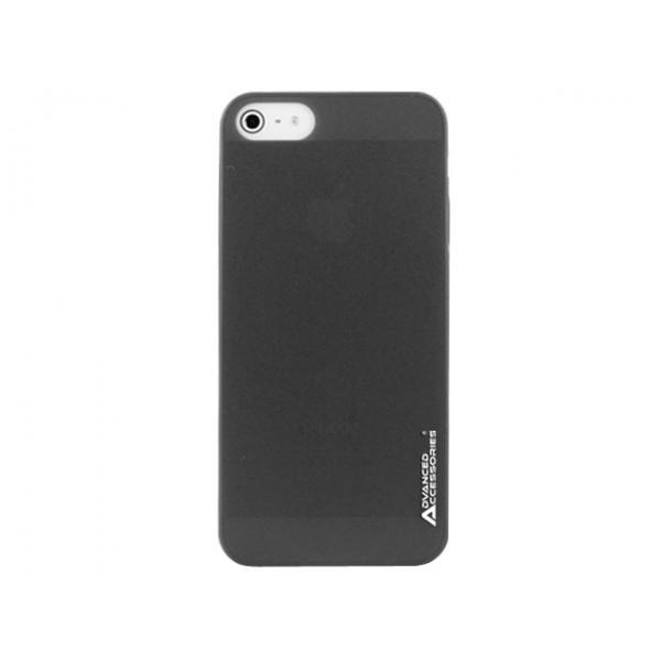 Advanced Accessories για Apple iPhone 5/5S Μαύρη θήκη Ghost και Μεμβράνη Προστασίας Οθόνης (KIN209)
