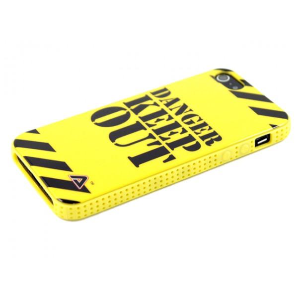 Advanced Accessories για Apple iPhone 4/4S Θήκη Jelli Danger Keep Out και Μεμβράνη Προστασίας Οθόνης(KIN177)