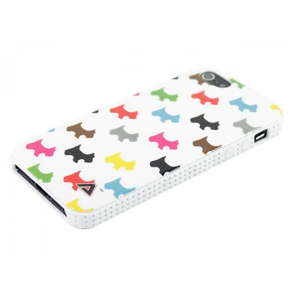 Advanced Accessories για Apple iPhone 5/5S Θήκη Jelli Puppy Λευκή και Μεμβράνη Προστασίας Οθόνης(ΚΙΝ094)