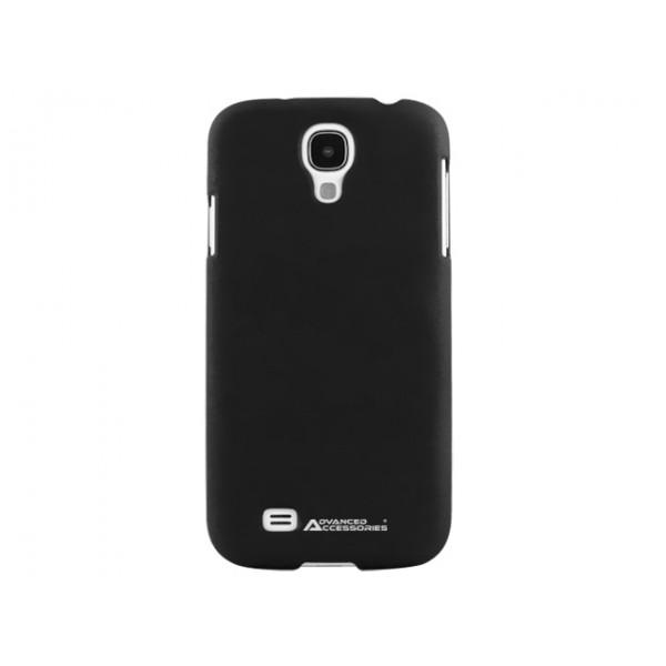 Advanced Accessories για Samsung Galaxy S4 SWANKY Hard Case Μαύρη και Μεμβράνη Προστασίας Οθόνης(ΚΙΝ056)