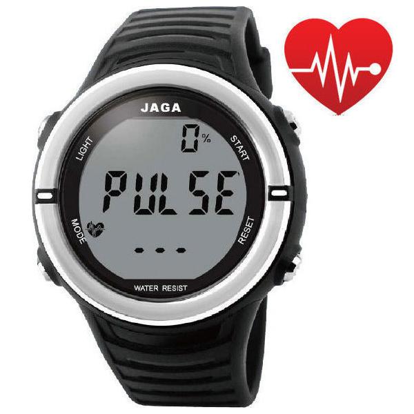 Ρολόι Αθλητικό JAGA με Ένδειξη Παλμών Pulse-01