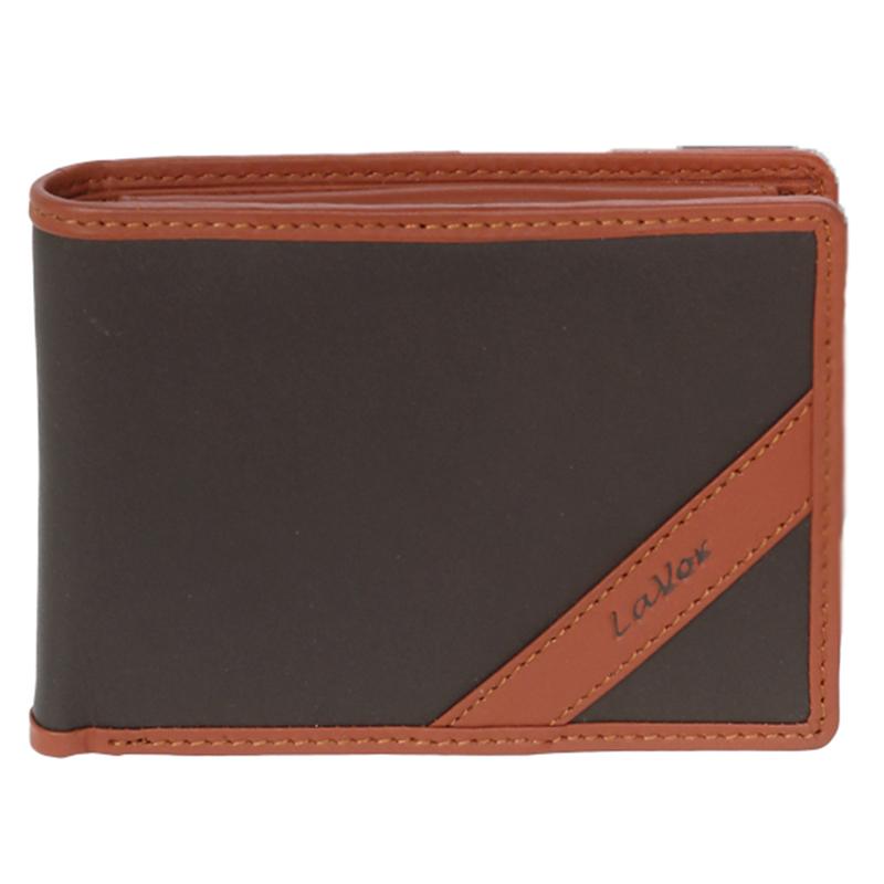 Δερμάτινο ανδρικό πορτοφόλι LAVOR 1-5901 σε καφέ χρώμα