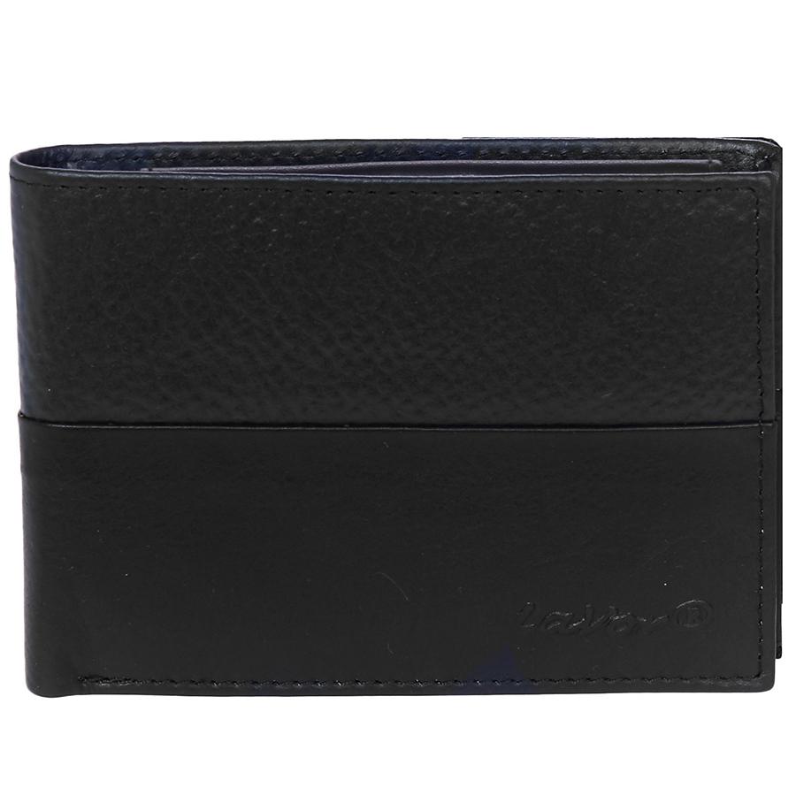 Δερμάτινο ανδρικό πορτοφόλι LAVOR 1-7301BL (θήκη ταυτότητας& θήκη κερμάτων)