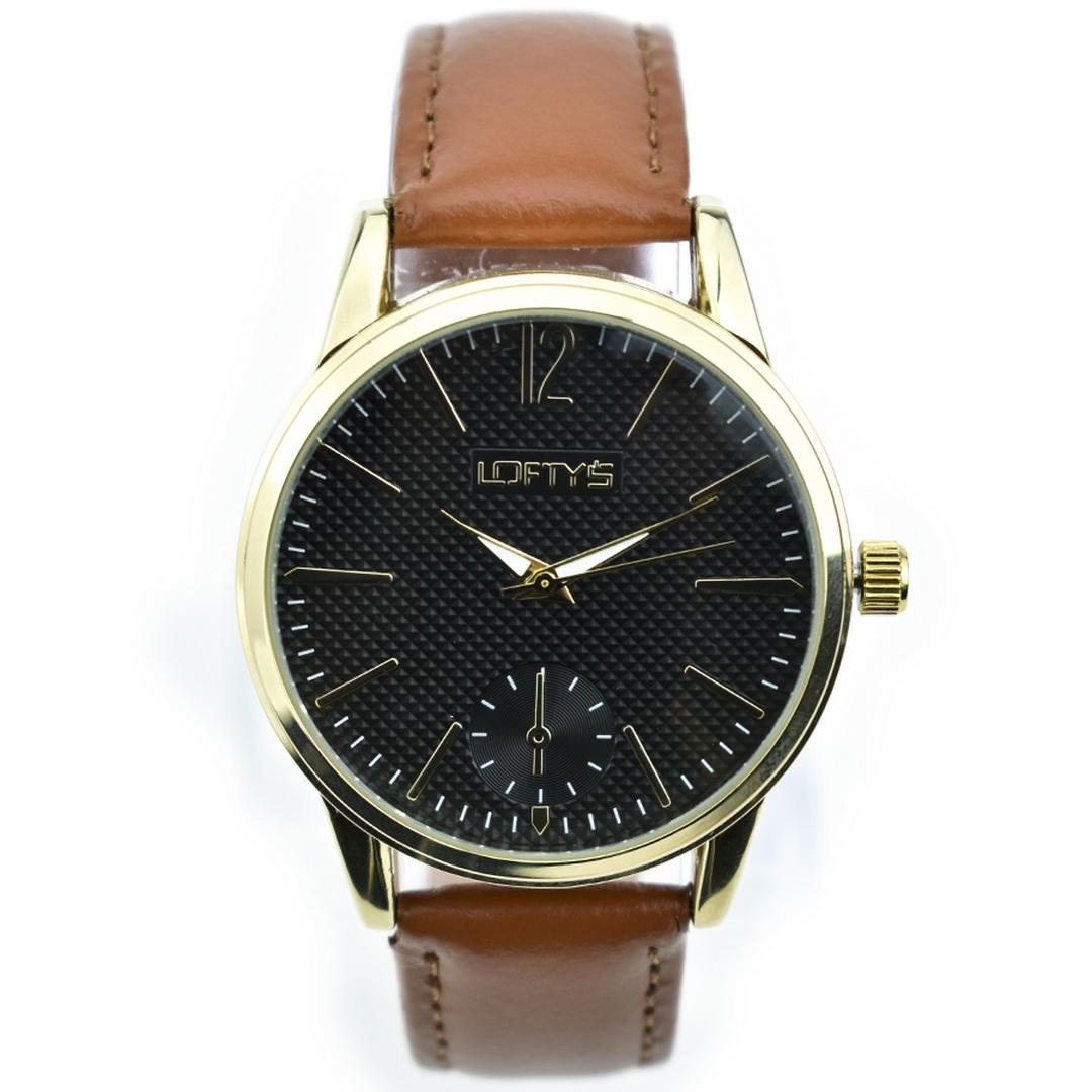 Ρολόι LOFTYS Cosmopolitan Brown Genuine Leather Strap Y3405-20