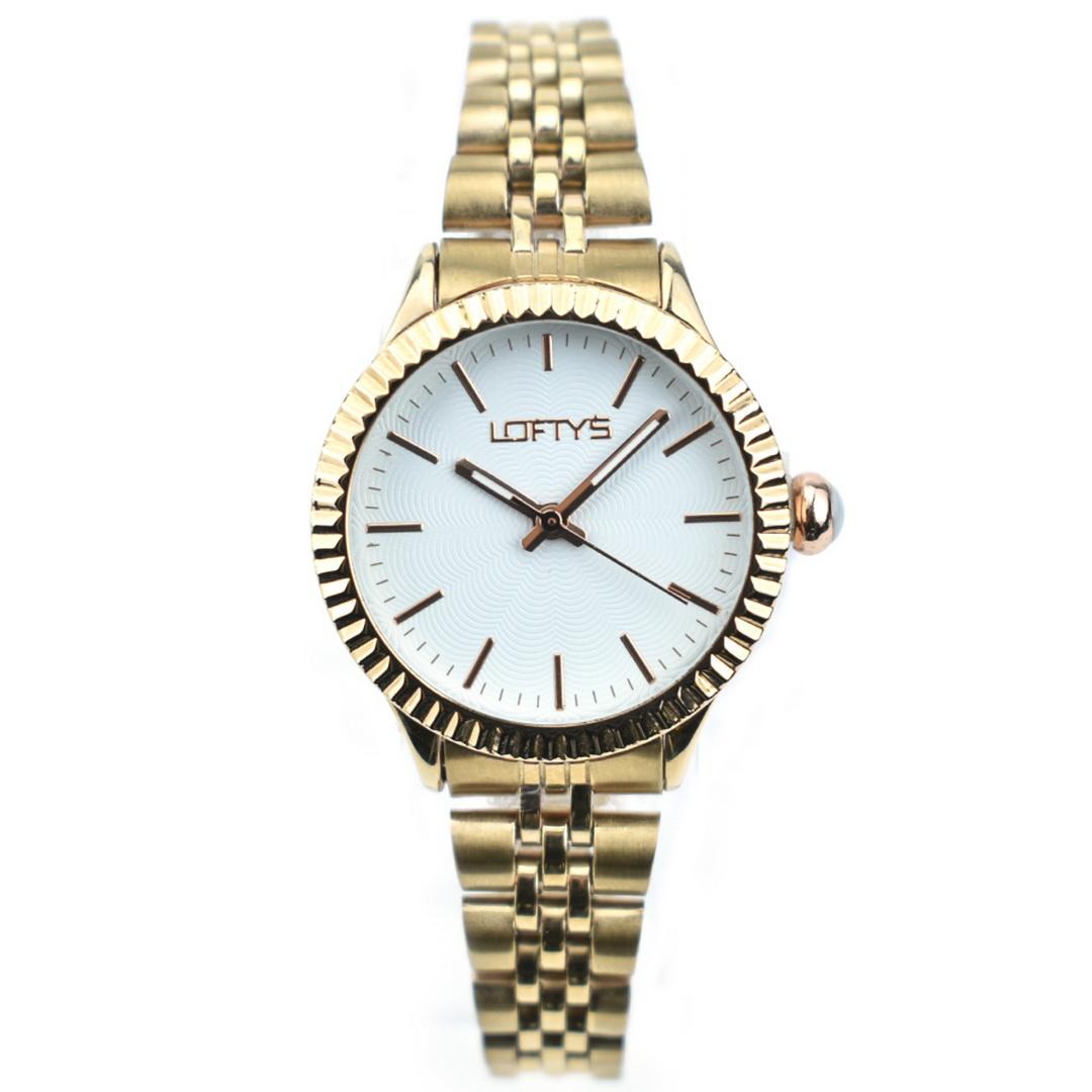 Ρολόι LOFTYS Elegant Rose Gold Bracelet Y2009-1