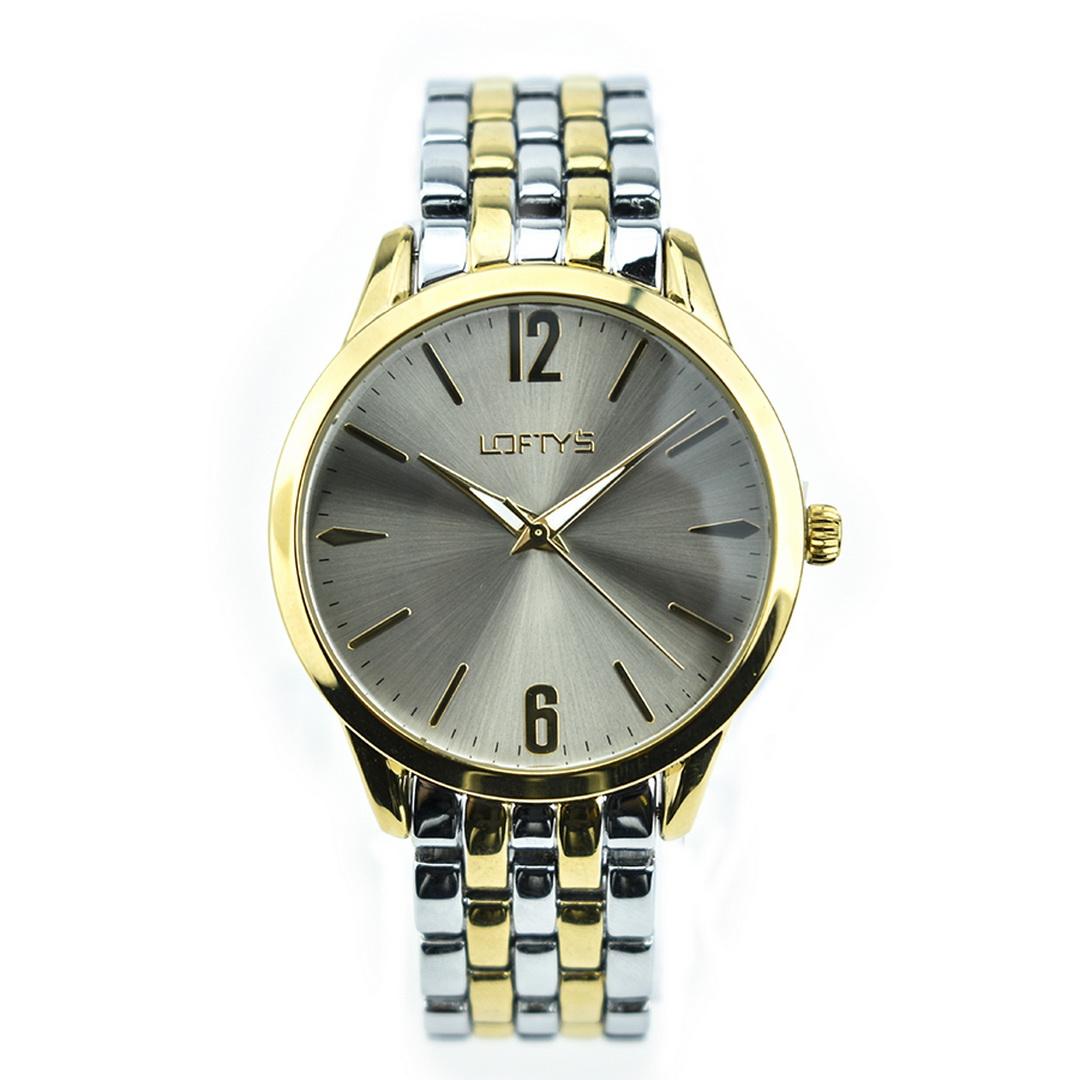 Ρολόι LOFTYS Classic Gold – Silver Bracelet Y2007-4