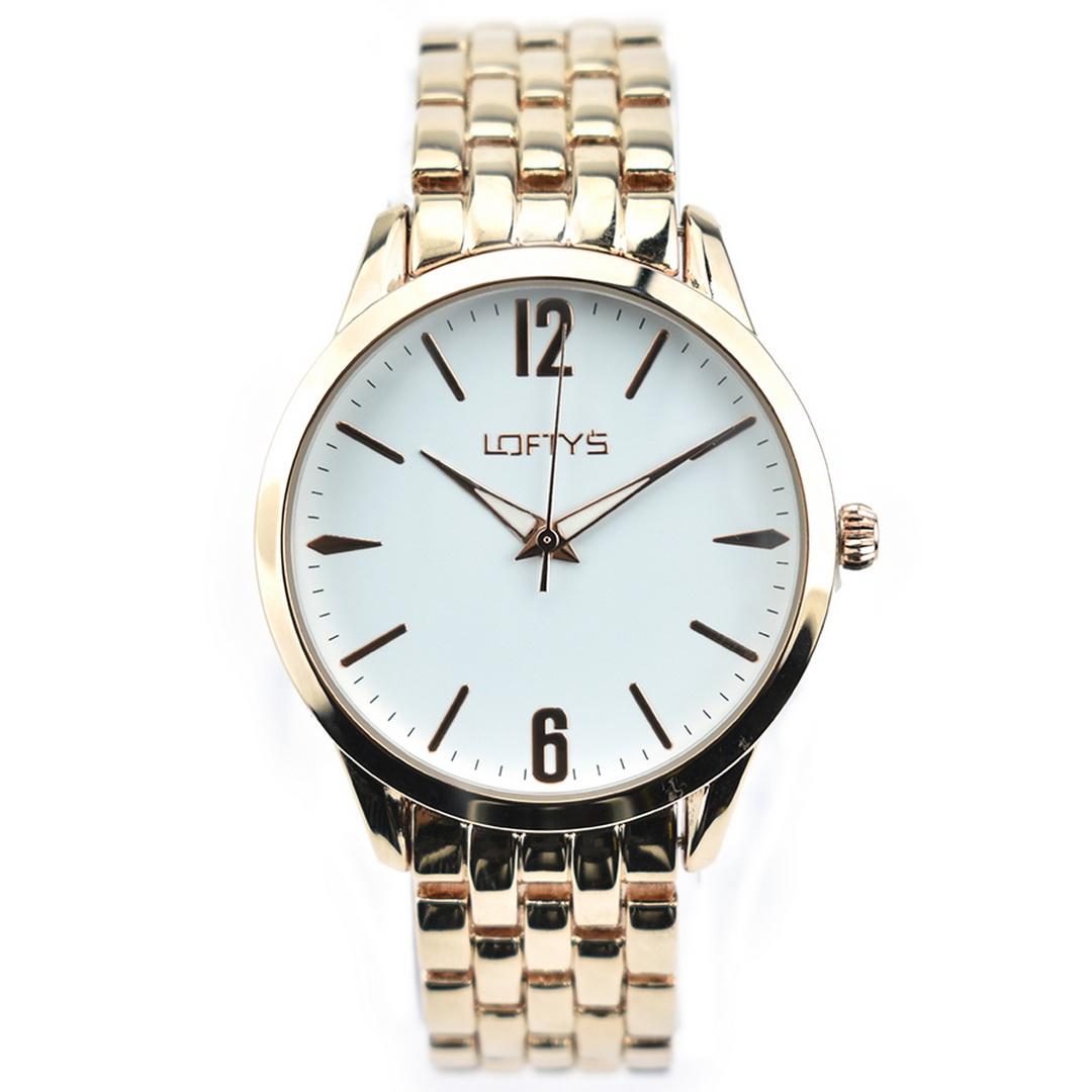 Ρολόι LOFTYS Classic Rose Gold Bracelet Y2007-5