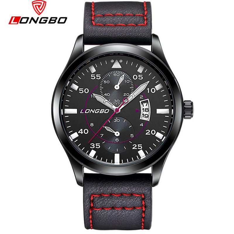 Ρολόι LONGBO 80202 RED