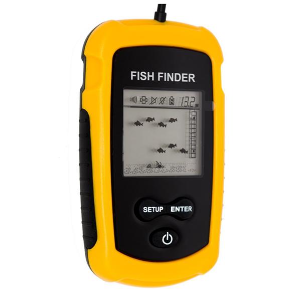 Ανιχνευτής ψαριών και αισθητήρα βάθους μέχρο 100m