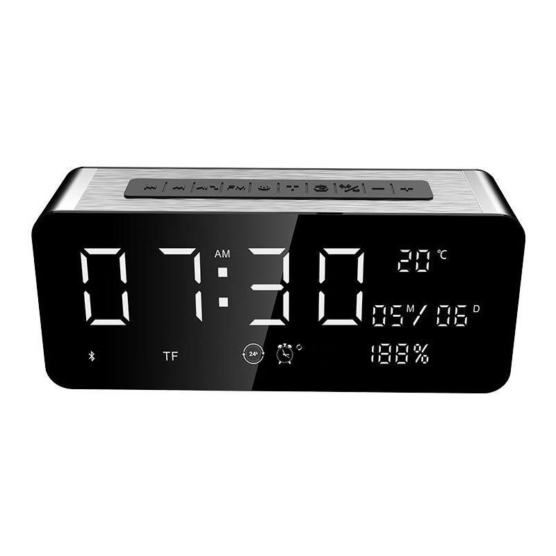 Φορητό Bluetooth Ηχείο 4.1 12W με Ρολόι, Ραδιόφωνο και Είσοδο USB/SD/AUX – Sardine A10